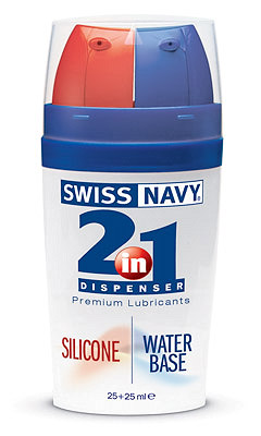 Swiss Navy 2 in 1 Silicone/water