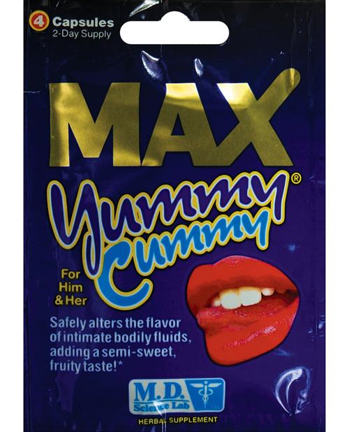 Max Yummy Cummy - 4 ct Packet