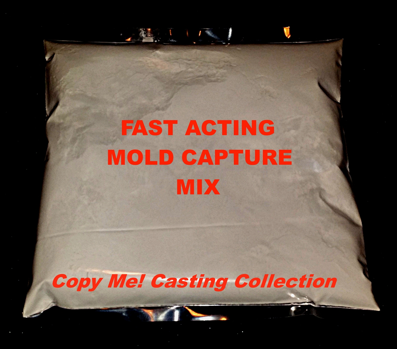 This order contains 1 bag of Fast Acting Mold Capture Mix. It is a refill part of the Copy Me! Penis Casting Ultra Kit. When mixed with water, it creates the imprint of your favorite penis in every detail and takes you to the next step of making a dildo replica of that penis you know and love!