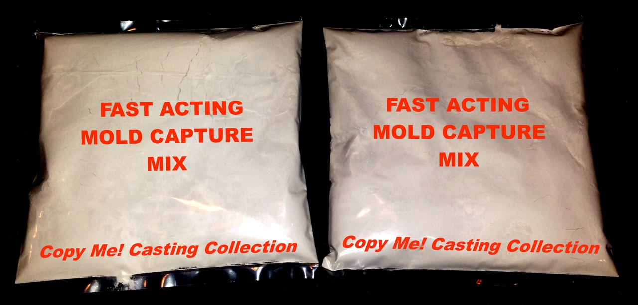 This order contains 2 bags of Fast Acting Mold Capture Mix.  (Only 1 bag is needed to make a penis imprint) It is a refill part of the Copy Me! Penis Casting Ultra Kit. When mixed with water, it creates the imprint of your favorite penis in every detail and takes you to the next step of making a dildo replica of that penis you know and love!