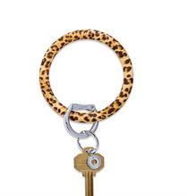 Big O Silicone Key Ring - Cheetah