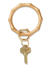Big O Silicone Key Ring - Gold Rush Bamboo