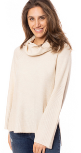 Zella Sweater, Ecru