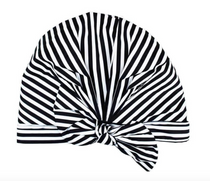 Luxe Shower Cap, Stripe
