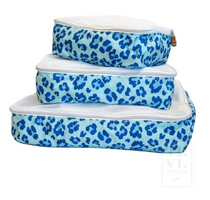 Packing Squad Blue Leopard