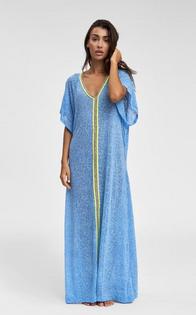 Inca Abaya, Blue