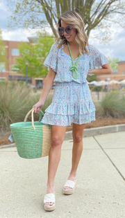 Kendall Dress, Spring Leaf