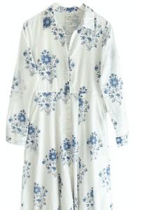Classic Shirt Dress, Royal Dahlia