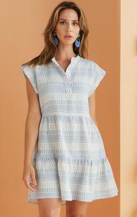 Lachlan Dress, Summer Blue