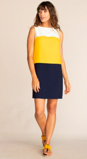 Luka Dress, Colorblock