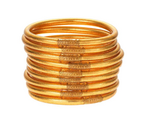 Budha Girl Bangles - Set of 3