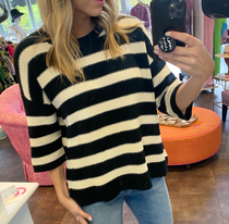 Pullover Striped Sweater