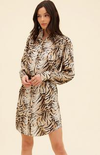 Tiger Collar Dress