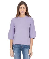 Lilac Bishop Slv Sweater