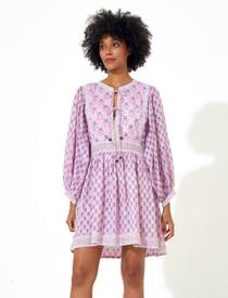 Antibes Tie Front Dress