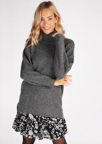 Long Oversized Grey Sweater