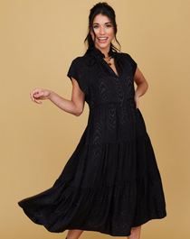 Watts Dress, Black