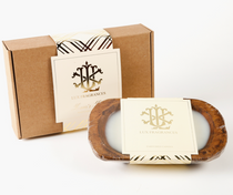 Lover's Lane 3 Wick Bowl Gift Box Candle