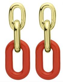 Orange Shakedown Earrings
