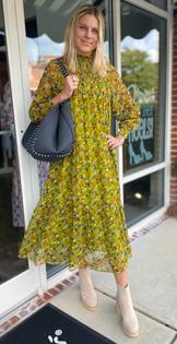 Piper Dress, Liberty Celery