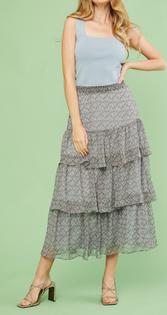 Wren Tiered Skirt