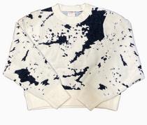 Carrara Sweater, Ecru/Black
