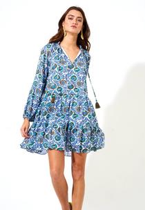Napa Blue Balloon Slv Dress