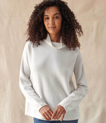 Luxe Cashmere Stand Neck