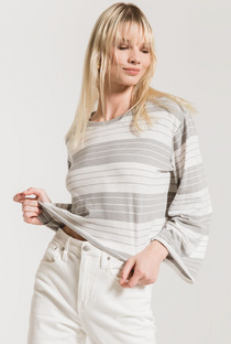 The Mesa Stripe Skimmer Tee