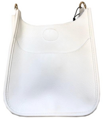 Mini Vegan Messenger, White