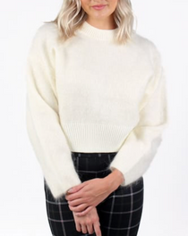 Barrio Sweater, Ivory