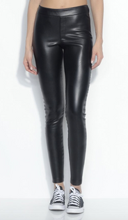 SM Faux Leather Pants