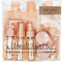 Refillable Ultimate Travel 11pc Blush