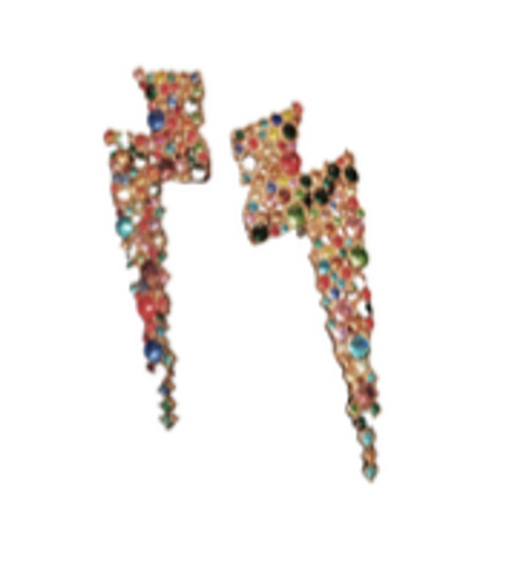 Bolt Earring - Multi