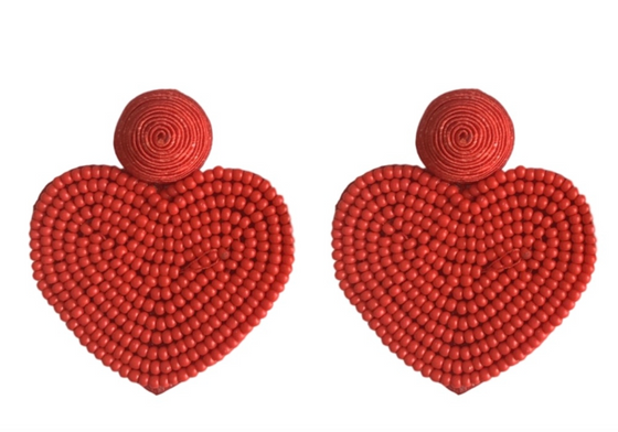 Valentines Hearts, Red
