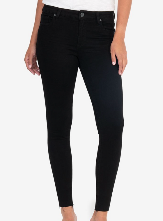 donna high rise ankle skinny