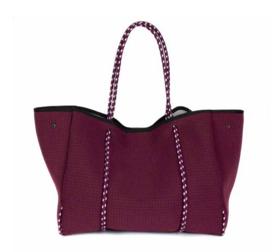 Everyday Tote Bag -  Burgundy