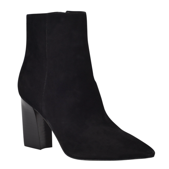 Umika Boot, Black Suede