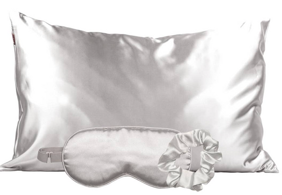 Satin Sleep Set - Silver
