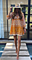 Marigold Cover Up Tunic