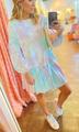 Ruffle Knit Dress