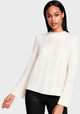 Relaxed Cable Mockneck