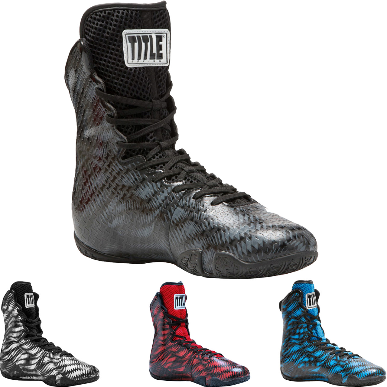 Title Boxing Predator Lightweight Mid-Length Boxing Shoes