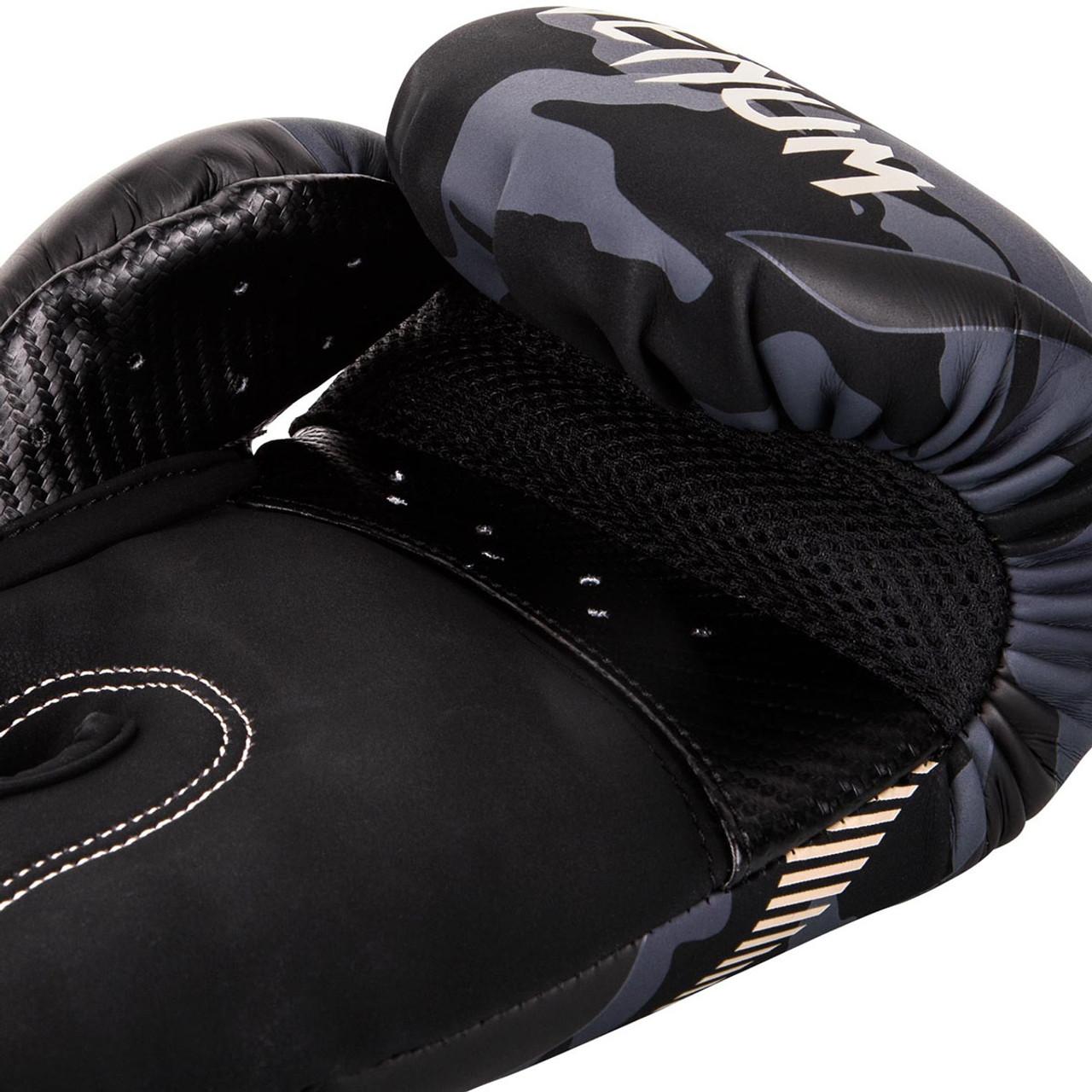 Venum Elite Boxing Gloves Navy Blue//White