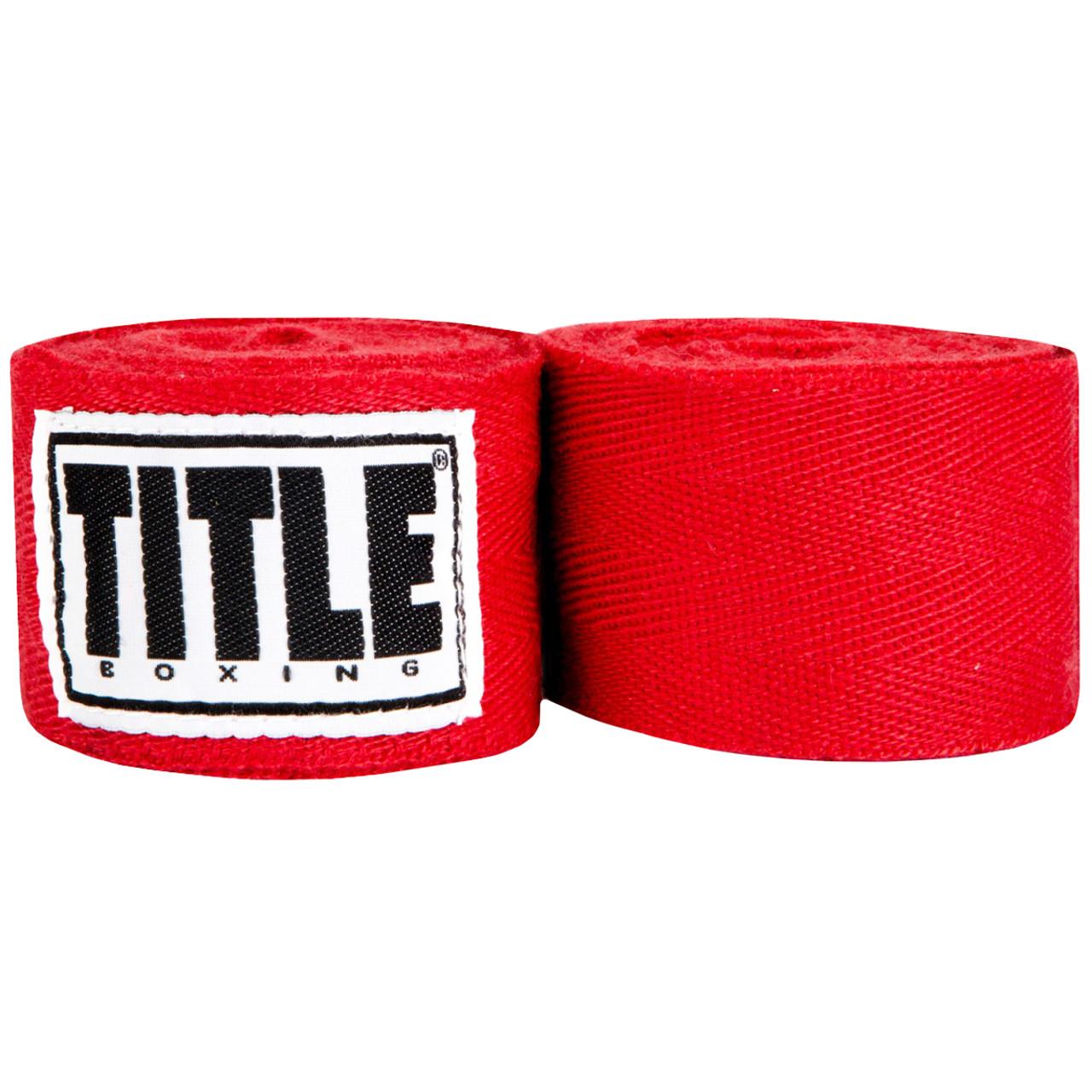 Title Boxing Classic Weave Handwraps