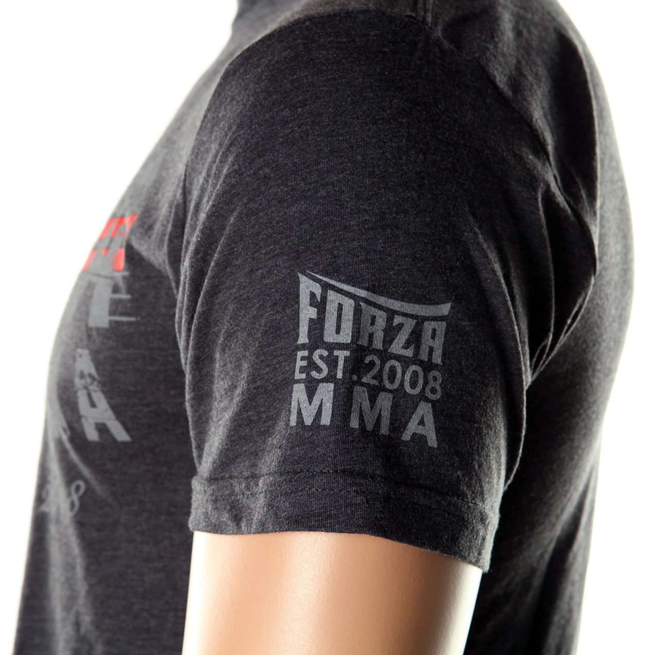 "Black Forza Sports /""New Heights/"" MMA T-Shirt"
