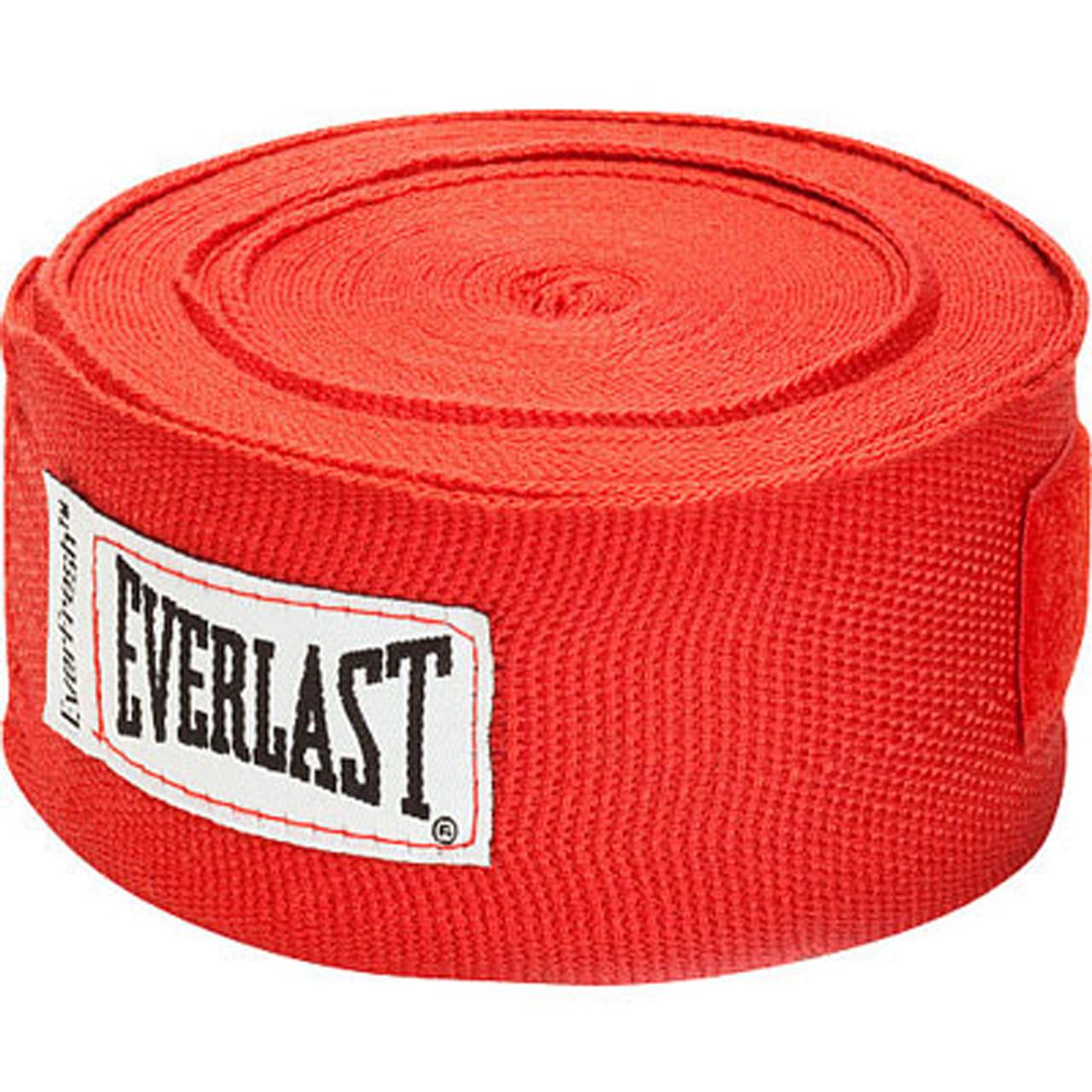 "Black Everlast Boxing 180/"" Mexican Handwraps"