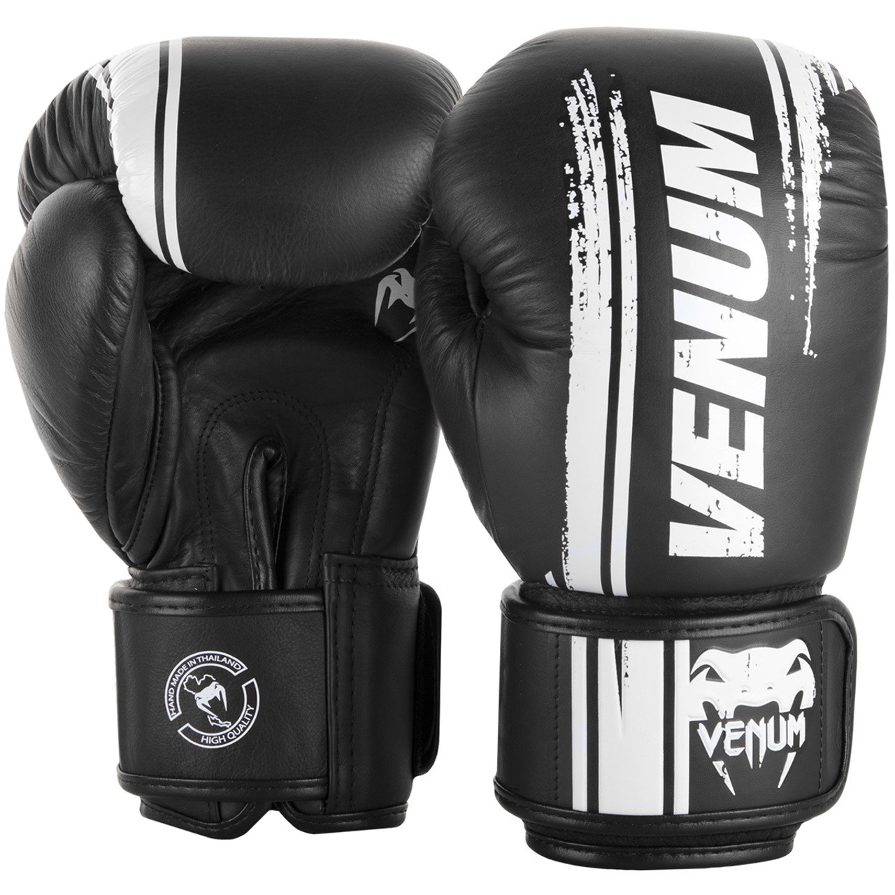 Venum Boxing Gloves Giant 3.0 Nappa Leather White Gold Sparring Training Gloves