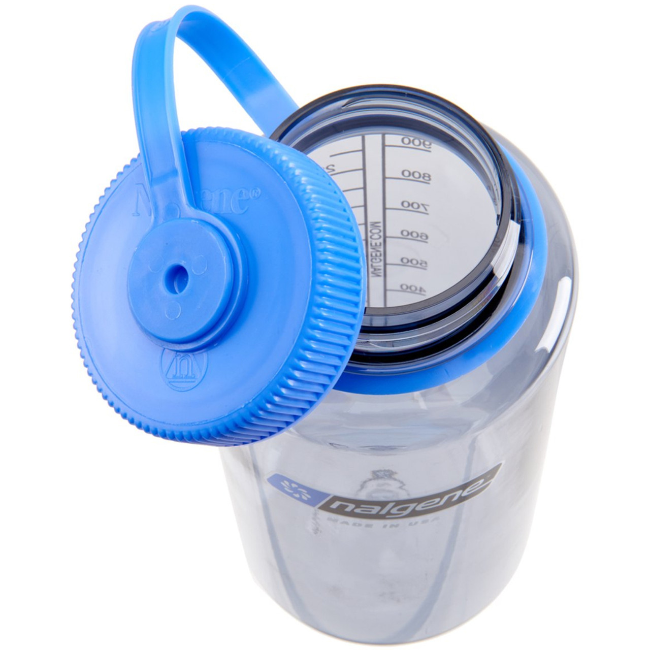 Blue//Black 32 oz Nalgene Tritan Wide Mouth Water Bottle