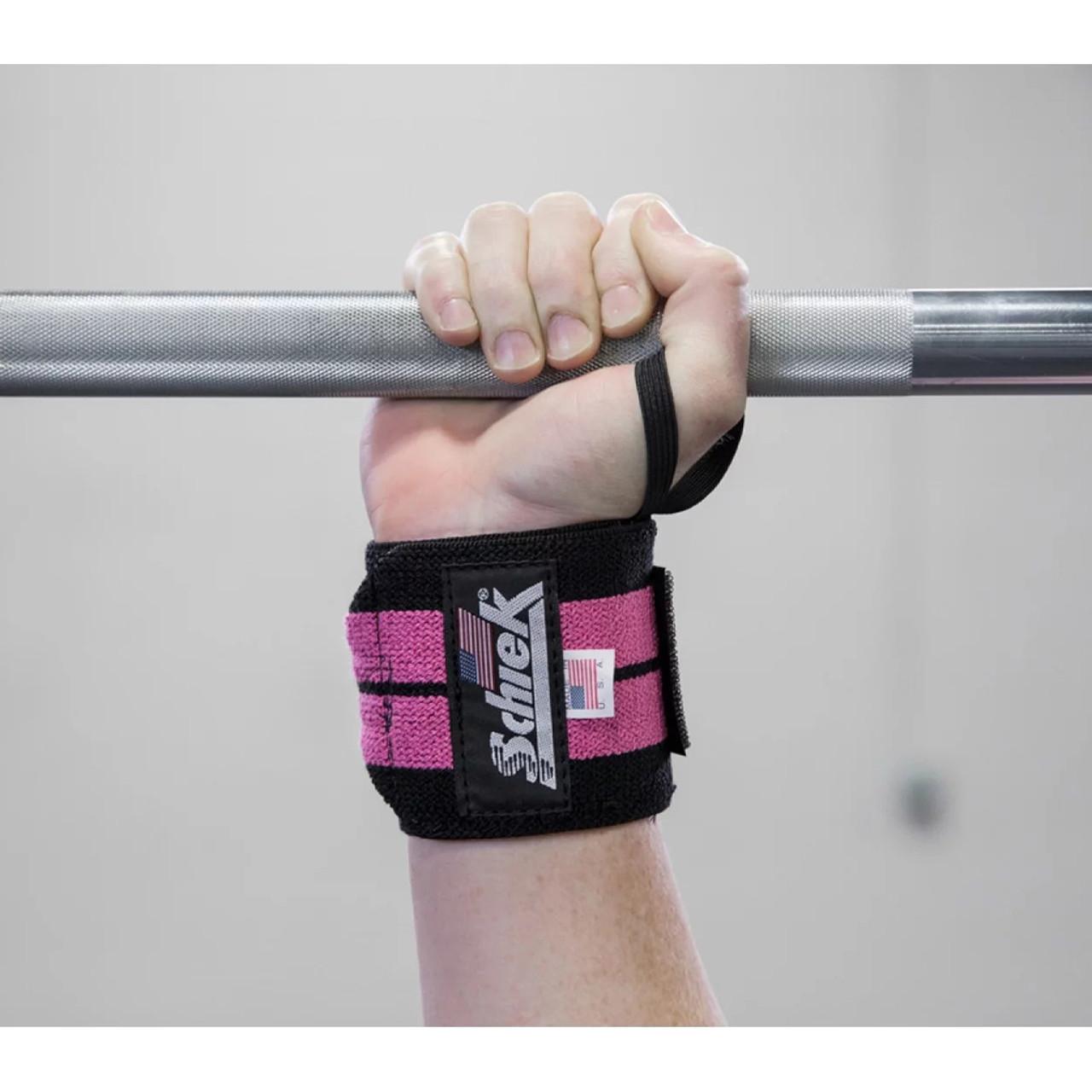 Schiek Line Wrist Wraps 24 inch White/